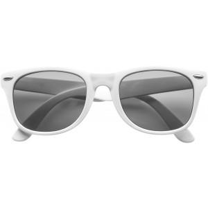 Klasszikus napszemüveg, fehér