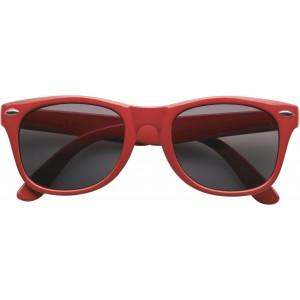 Klasszikus napszemüveg, piros
