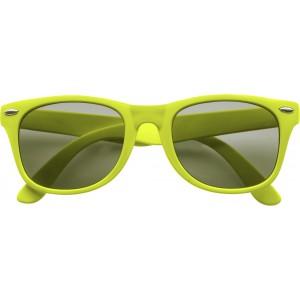 Klasszikus napszemüveg, világoszöld